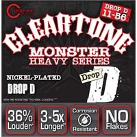 Cleartone Monster Drop D (11-56) Elektro Gitar Teli