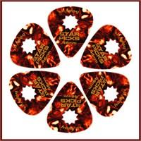 Star Picks Tortoise - Thin 0.46Mm - 6 Pack Pena