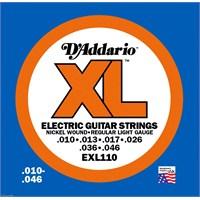 Daddario Exl110 Regular Light Elektro Gitar Takım Tel