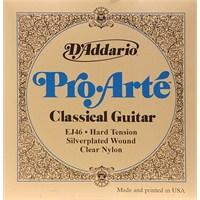 Daddario Ej46 Hard Tension Klasik Gitar Takım Tel