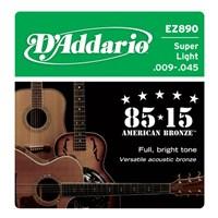 Daddario Ez890 009 Akustik Gitar Takım Tel