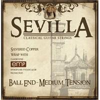 Cleartone Sevilla Medium Tension Tie-End Klasik Gitar Teli