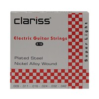 Clariss E10 Elektro Gitar Takım Tel