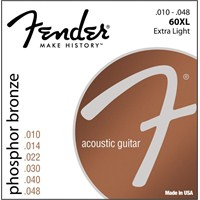 Fender Phosphor Bronze Acoustic Guitar Strings, Ba
