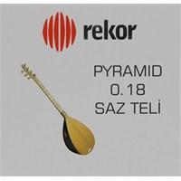 Rekor 0.18 Pyramid Saz Teli