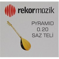 Rekor 0.20 Pyramid Saz Teli
