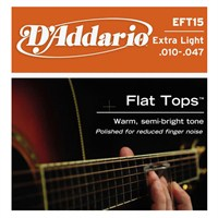 Daddario Eft15 - Akustik Gitar Teli