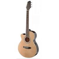Stagg Sa40Mjcfı-Lh N E. Akustik Gitar