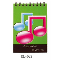 Fzsonata DL 8111 Notalı Yeşil Not Defteri