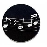 Music Gifts MM28 Dalgalı Porteli Bardak Altlığı