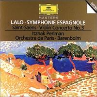 Itzhak Perlman - Lalo: Symphonie Espagnole, Saint-Saens: Violin Concerto No.3