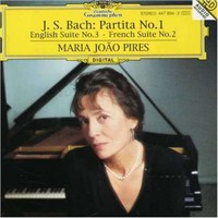 Maria Joao Pires - Bach.: Partita No:1, English Suite No:3, French Suite No:1