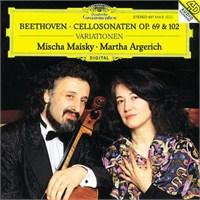 Mischa Maisky And Martha Argerich - Beethoven: Cello Sonata Op.69-102