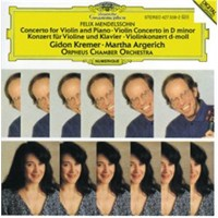 Gidon Kremer And Martha Argerich - Mendelssohn: Concertos For Violin,Piano And String Orchestra