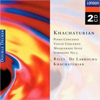 Khachaturian - Khatchaturian:Piano+Violin Concerto