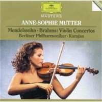 Anne-Sophie Mutter - Mendelssohn / Brahms:Violin Concertos