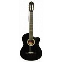 Barcelona Lc3900 Cbk Cutaway Siyah Klasik Gitar (Kılıf Hediyeli)