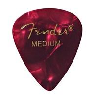 Fender 351 Shape Premium Picks, Medium, 12 Pack, Red