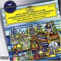 Herbert Von Karajan - Ravel: Bolero Debussy: La Mer Mussorgsky: Pıctures At An Exhıbıtıon