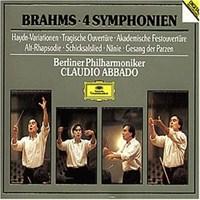 Claudio Abbado - Brahms: 4 Symphonien