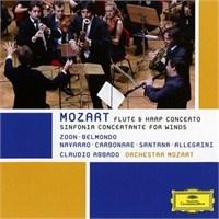 Claudio Abbado - Mozart: Sinfonia Concertante For Winds:Flute And Harp Concertos