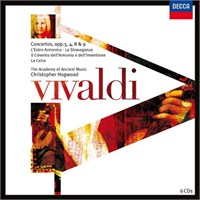 Christopher Hogwood - Vivaldi : Concerti Op.3,4,8 And 9
