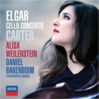 Alisa Weilerstein - Elgar And Carter Cello Concertos