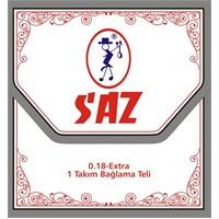 SAZ 652-A Saz Teli Ekstra 0.18
