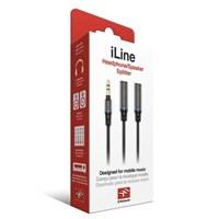 IK Multimedia iLine - Headphone/Speaker Stereo Splitter (Kulaklık Girişi Çoğaltıcı)