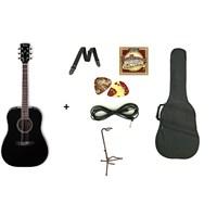 Ibanez PF15-BK Akustik Gitar Seti