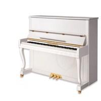 Hofhaimer HUP123IV Fildişi Beyazı Akustik Piyano (Piyano Taburesi Hediye)