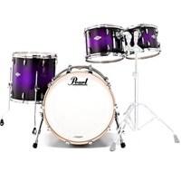 Pearl Masters Custom MCX904P/C369 4-PC Purple Sparkle Burst Akustik Davul Seti