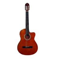 Barcelona Lc 3900 Ceq Or Elektro Klasik Gitar (Kılıf Hediyeli)