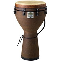 Remo Djembe Key-Tuned 14 Diameter 25 Height Fabric Earth