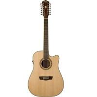 Washburn Wd10sce12 12 Telli Elektro Akustik Gitar