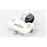 Zoom IQ5/W H4N,H6 ve İphone İçin Uyarlanmış Stereo Mikrofon BEYAZ