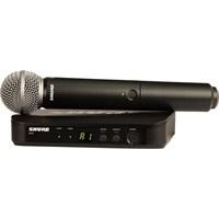 Shure Blx24e/Sm58 Telsiz Vokal Mikrofon Seti