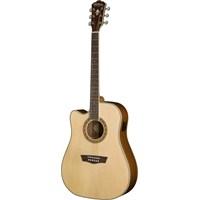 Washburn Wd10scelh Solak Elektro Akustik Gitar