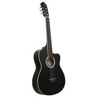 Garcia LC 3901 CBK Cutaway Siyah Klasik Gitar (Aksesuar Hediyeli)