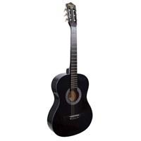Klasik Gitar Manuel Raymond Siyah MRC275BK (Kılıf Hediyeli)