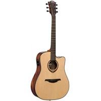 LAG GLA T500DCE Cutaway Elektro Akustik Gitar