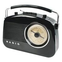 König Retro Design Am/Fm Radio - Siyah