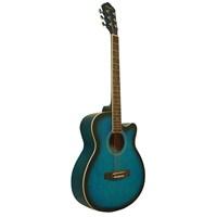 Segovia Gitar Akustik Cutaway SGA40BLS (Aksesuar Hediyeli)