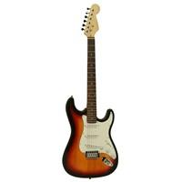 Xenon Gitar Elektro XNE3SB Stratocaster Kasa (Kılıf ve Ara Kablo Hediye)