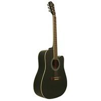 Segovia Gitar Akustik Cutaway SGA41BK