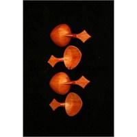 Yissi Kısa Plastik Kaşık (4'Lü)