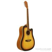 Segovia Gitar Akustik Cutaway SGA41SB