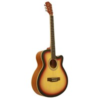 Segovia Gitar Akustik Cutaway SGA40SB (Aksesuar Hediyeli)