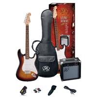 Sx Se1 Sk 3Ts Elektro Gitar Seti