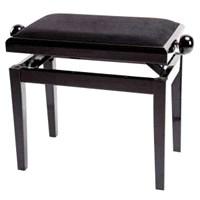 Piyano Taburesi Parlak Siyah